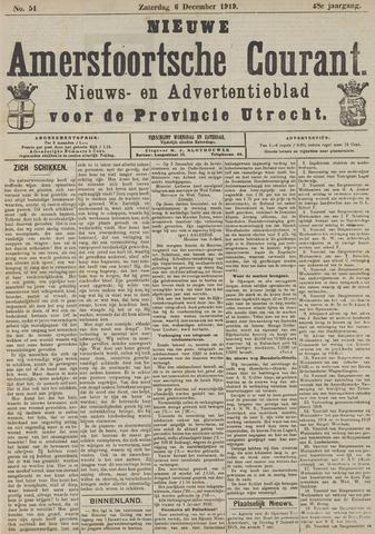Nieuwe Amersfoortsche Courant 1919-12-06