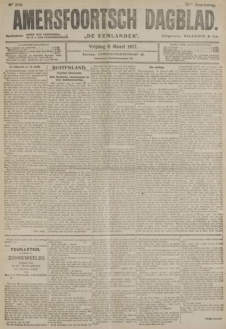 Amersfoortsch Dagblad / De Eemlander 1917-03-09