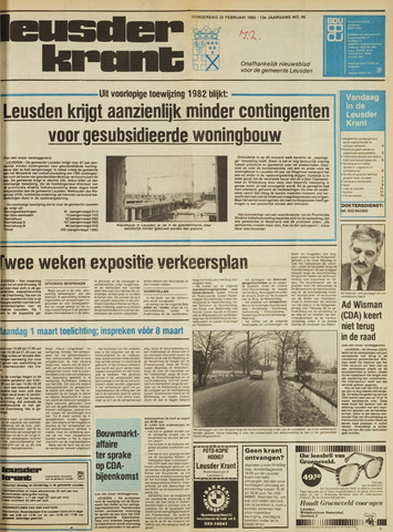 Leusder Krant 1982-02-25
