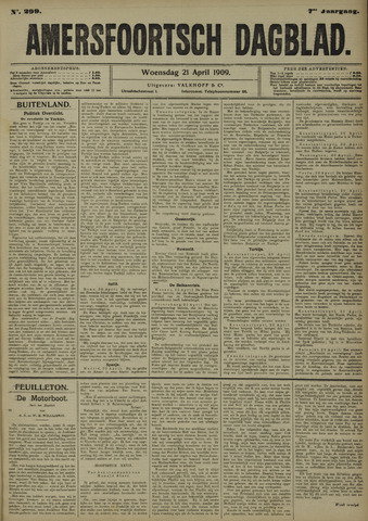 Amersfoortsch Dagblad 1909-04-21