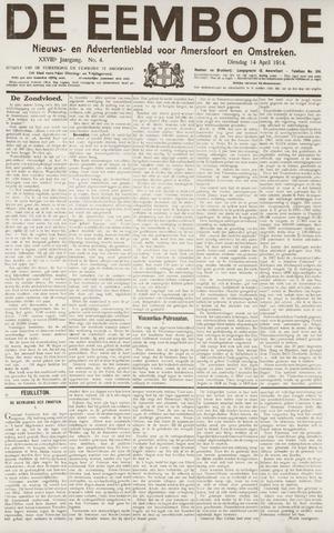 De Eembode 1914-04-14