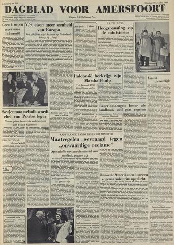 Dagblad voor Amersfoort 1949-11-08