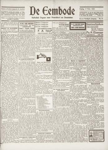 De Eembode 1933-02-17