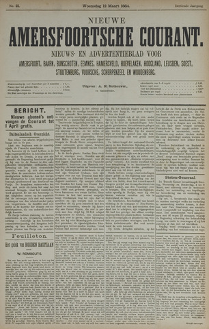 Nieuwe Amersfoortsche Courant 1884-03-12