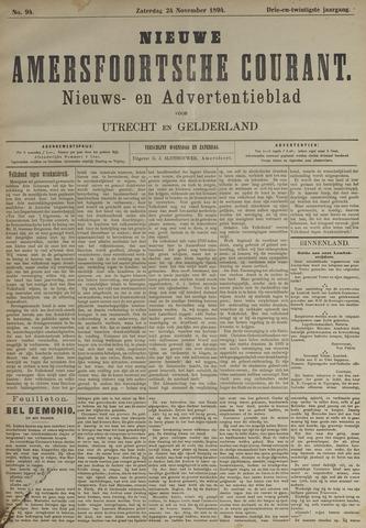 Nieuwe Amersfoortsche Courant 1894-11-24