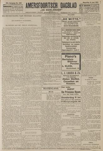 Amersfoortsch Dagblad / De Eemlander 1927-06-13