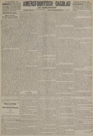 Amersfoortsch Dagblad / De Eemlander 1918-10-28
