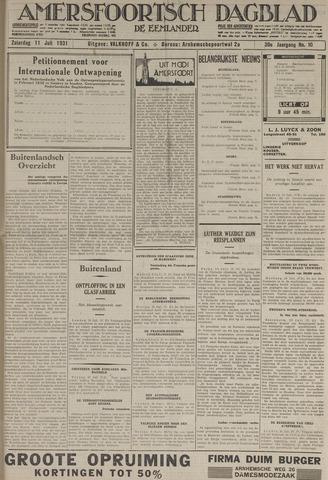 Amersfoortsch Dagblad / De Eemlander 1931-07-11