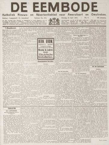 De Eembode 1915-04-20
