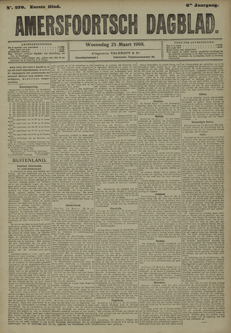 Amersfoortsch Dagblad 1908-03-25