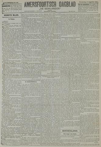 Amersfoortsch Dagblad / De Eemlander 1921-08-11
