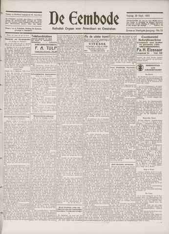 De Eembode 1933-09-29