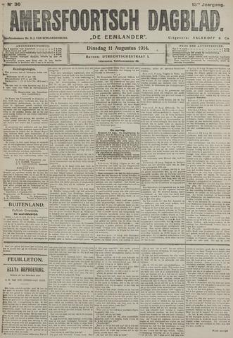 Amersfoortsch Dagblad / De Eemlander 1914-08-11
