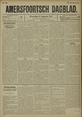 Amersfoortsch Dagblad 1910-08-10