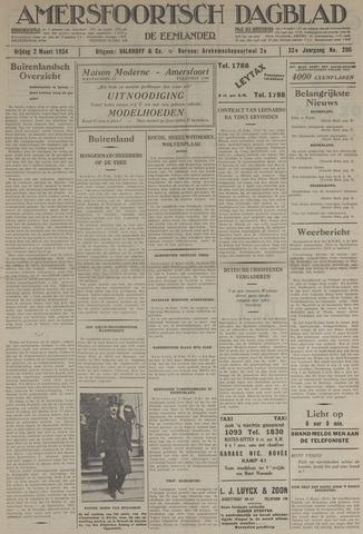 Amersfoortsch Dagblad / De Eemlander 1934-03-02