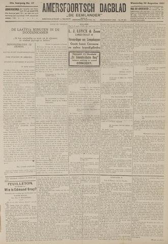 Amersfoortsch Dagblad / De Eemlander 1927-08-24