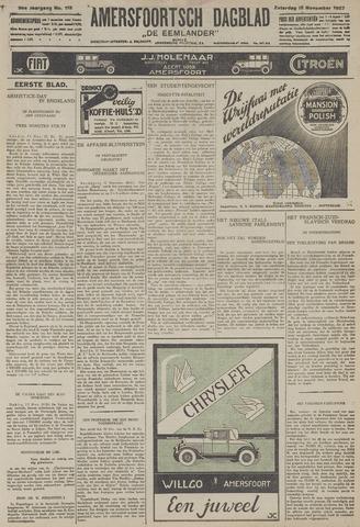 Amersfoortsch Dagblad / De Eemlander 1927-11-12