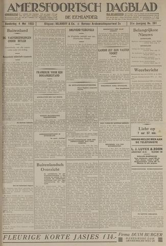 Amersfoortsch Dagblad / De Eemlander 1933-05-04