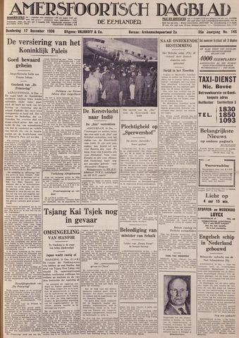 Amersfoortsch Dagblad / De Eemlander 1936-12-17