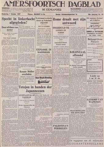 Amersfoortsch Dagblad / De Eemlander 1937-10-07