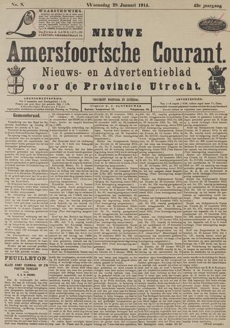 Nieuwe Amersfoortsche Courant 1914-01-28
