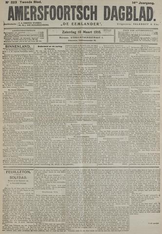 Amersfoortsch Dagblad / De Eemlander 1916-03-18