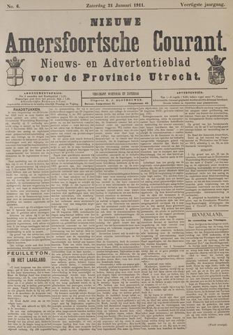 Nieuwe Amersfoortsche Courant 1911-01-21