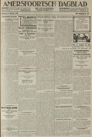 Amersfoortsch Dagblad / De Eemlander 1930-02-12