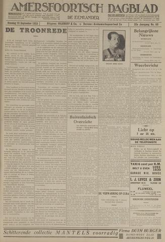 Amersfoortsch Dagblad / De Eemlander 1933-09-19