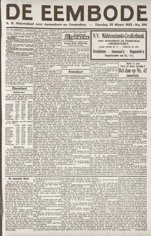 De Eembode 1923-03-20