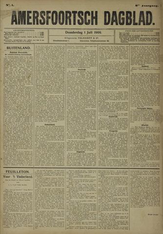 Amersfoortsch Dagblad 1909-07-01