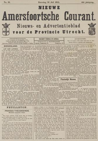 Nieuwe Amersfoortsche Courant 1915-07-31
