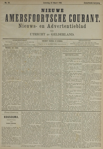 Nieuwe Amersfoortsche Courant 1888-03-24