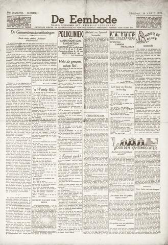 De Eembode 1939-04-28