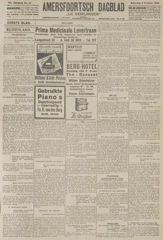 Amersfoortsch Dagblad / De Eemlander 1925-10-03