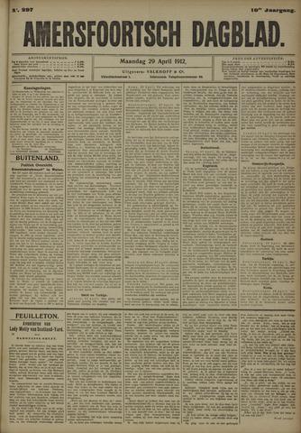 Amersfoortsch Dagblad 1912-04-29