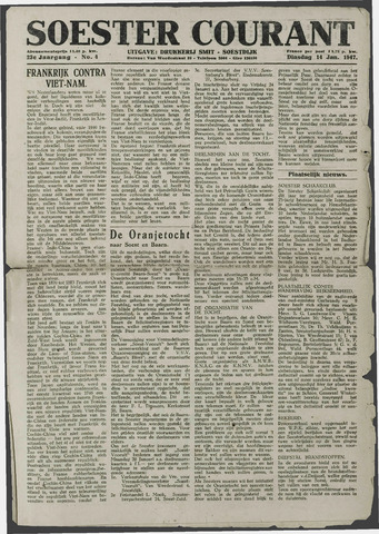 Soester Courant 1947