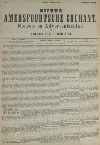 Nieuwe Amersfoortsche Courant 1891-01-31