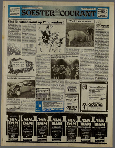 Soester Courant 1984-11-07