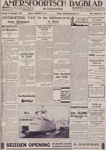 Amersfoortsch Dagblad / De Eemlander 1937-09-25