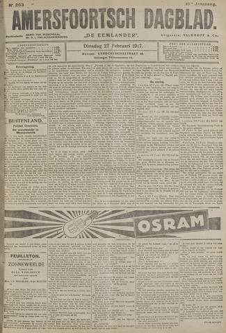 Amersfoortsch Dagblad / De Eemlander 1917-02-27