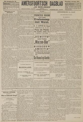 Amersfoortsch Dagblad / De Eemlander 1927-10-03