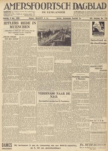 Amersfoortsch Dagblad / De Eemlander 1940-11-09