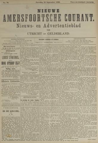 Nieuwe Amersfoortsche Courant 1893-09-23