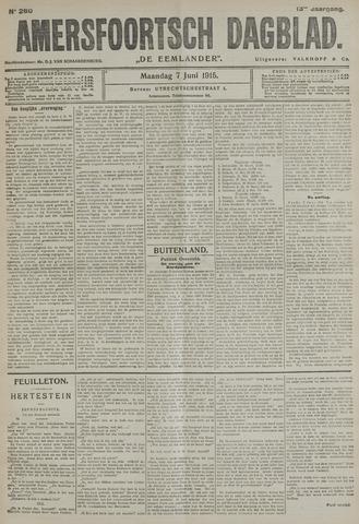 Amersfoortsch Dagblad / De Eemlander 1915-06-07