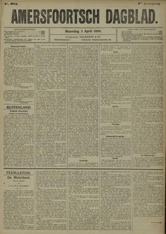 Amersfoortsch Dagblad 1909-04-05