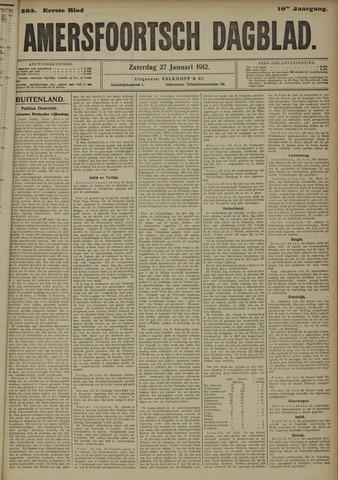 Amersfoortsch Dagblad 1912-01-27