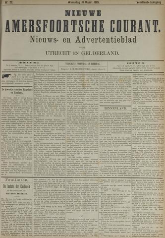 Nieuwe Amersfoortsche Courant 1885-03-18