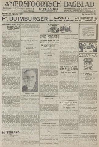 Amersfoortsch Dagblad / De Eemlander 1929-09-25