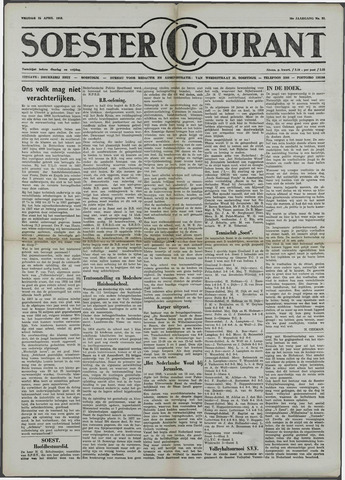 Soester Courant 1958-04-25
